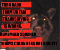 Squanto advice adviceraccoon colonization holiday raccoon rememe riff thanksgiving // 649x546 // 353.3KB