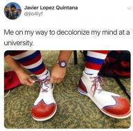 clown decolonize university // 570x561 // 656.6KB