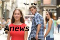 DSA anarchist anews black federation rose // 3000x2001 // 3.8MB